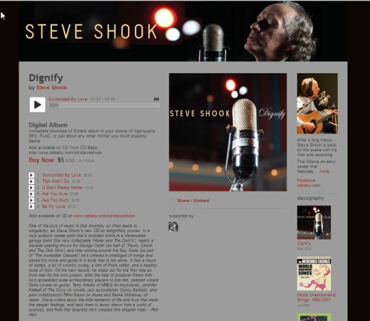 Steve Shook - Dignify