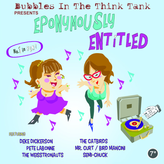 Bubbles in the Think Tank presents Eponymously Entitled